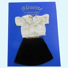 original G.L. outfit ' ELLE ' for Bleuette doll 1939