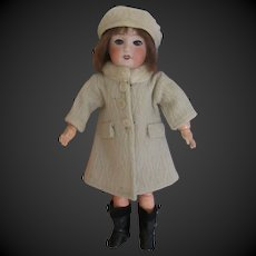 original G.L. outfit 'Frimas' for Bleuette doll, 1940, 2 pieces