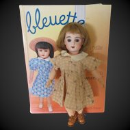 original G.L. outfit 'grand chic' for Bleuette doll, 1932