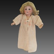 for Bleuette doll : original G.L. dressing gown 'REPOS' , 1953