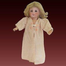 for Bleuette doll : original G.L. dressing gown 'REPOS' , 1953