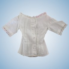 original blouse for French fashion doll