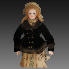 "Original vest for a 18"" French fashion doll"