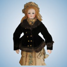 """Original vest for a 18"""" French fashion doll"""