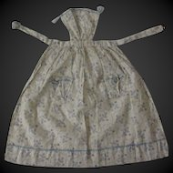 "antique Apron for a 18"" fashion doll"