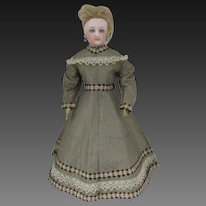 "Original dress for a 13 3/4"" French fashion doll"