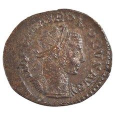 Roman Billon coin Aurelianus of Probus 276-282 AD Laetitia Augusti