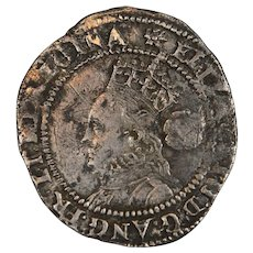 Queen Elizabeth the 1st hammered silver threepence 1560-70's English hammer coin