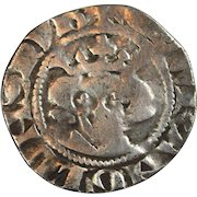 King Edward 1st hammered silver penny 1272-1307 London mint Medieval English coin