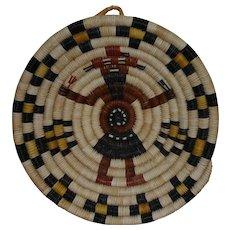 """Native American Hopi Mudhead Tray  -  8.5"""""""