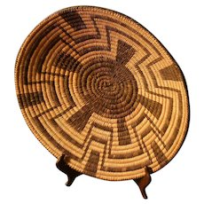 Native American Basket - Pima - Akimel O'odham Shallow Bowl - Large