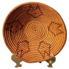 Native American Basket - Jicarilla Apache - Large, Shallow Bowl