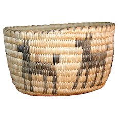 Figural Tohono O'odham or Papago Basket - Horses