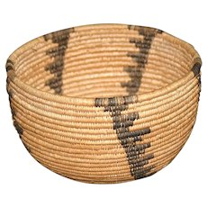 Native American Havasupai Basketry Bowl