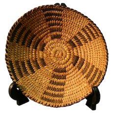 Tohono O'odham (Papago) Small Basket or Tray - Very Nice Condition