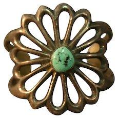 Native American - Navajo Sandcast Bracelet - Vintage