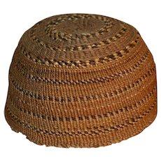 Modoc Child's Hat - Basket - c. 1920s