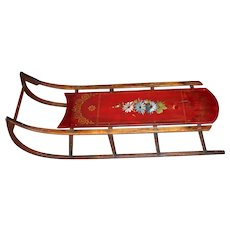 Superb Child's Sled - Paris Mfg. Co. - Christmas