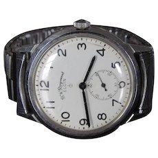 B.W. Raymond Elgin RR6 Vintage Wrist Watch