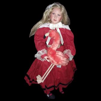 "30"" Alice in Wonderland by Cindy Koch"