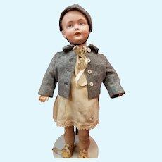 "All original 17"" Kley & Hahn Character Boy"
