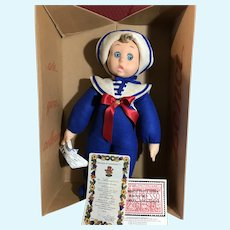 "18"" Lenci Sailor Doll never out of box"