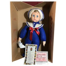 """18"""" Lenci Sailor Doll never out of box"""