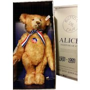 Seiff Reproduciton Alice Bear