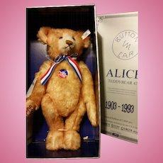 Seiff Reproduciton Alice Bear