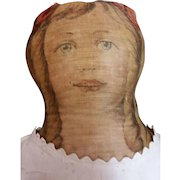 Early 1900 Printed Cloth Doll