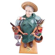 Lynn Haney Man Gardener