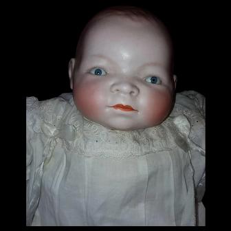 Large Antique Byelo Baby