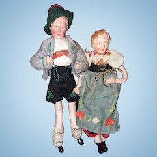 Doll house size Australian couple