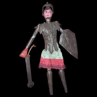 Burmese knight marionette