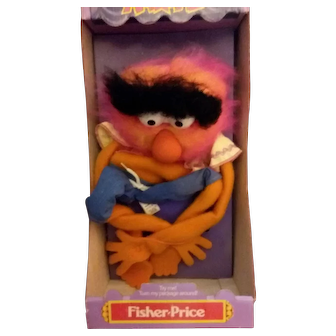 Rare Vintage 1978 Animal Muppets hand puppet in box