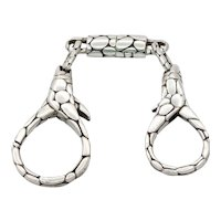 John Hardy Kali Collection Keychain 925 Sterling Silver