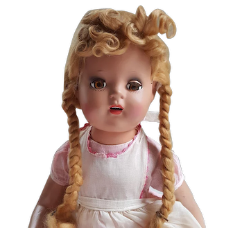 Vintage Sears Happi Time Composition Doll  with Teeth