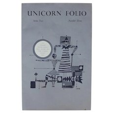 Limited Edition: Unicorn Folio Series Two Number Three