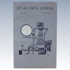Limited Edition: Unicorn Folio Series Two Number Three