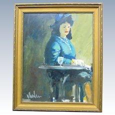 Portrait by Joseph Whalen (1927-) of New York, New York