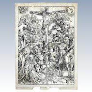 The Crucifixion by Albrect Durer (1471-1528)