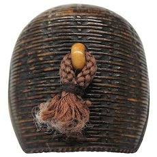 Ca. 1900 Meiji Period Carved Netsuke