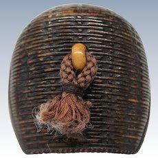 Ca. 1900 Meiji Period Carved Netsuke