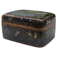 Japanese 19th C. Cloisonne Box