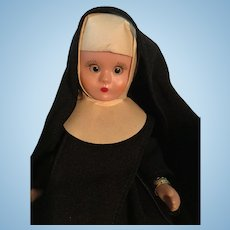 Vintage Nancy Ann storybook doll Nun