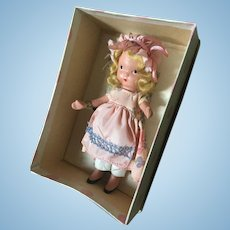 Vintage Nancy Ann storybook doll painted bisque