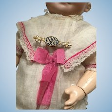 Antique Bebe pin for your french dolly #2