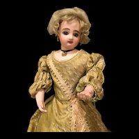 A rare French fashion mechanical doll