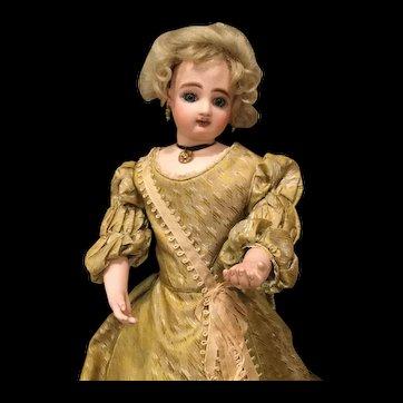 A rare French fashion mechanical doll