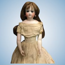 A classic early French fashion doll
